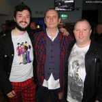 Carlos, Colin Hay and Stevie in Glasgow, Scotland