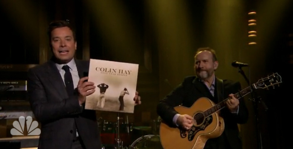 Colin Hay at The Tonight Show with Jimmy Fallon