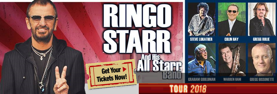 Ringo Starr All Starr Band Tour 2018 - featuring Colin Hay